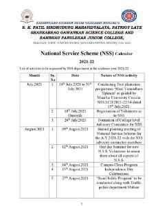 NSS Calendar 2021-22-1